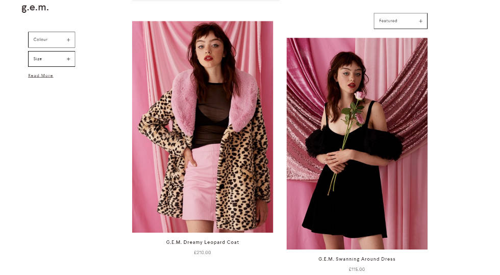 Lazy Oaf G.E.M collection new Lazy oaf website