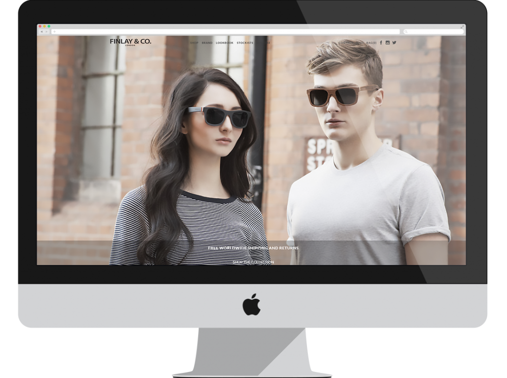 Finlay & Co. is a Shopify ecommerce store designed and developed by Shopify Builder