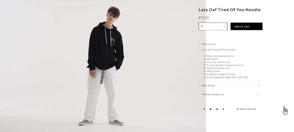 lazy oaf men's clothing
