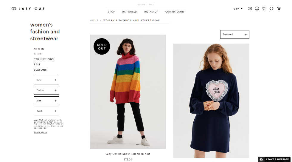 How to start a fashion brand like lazy oaf