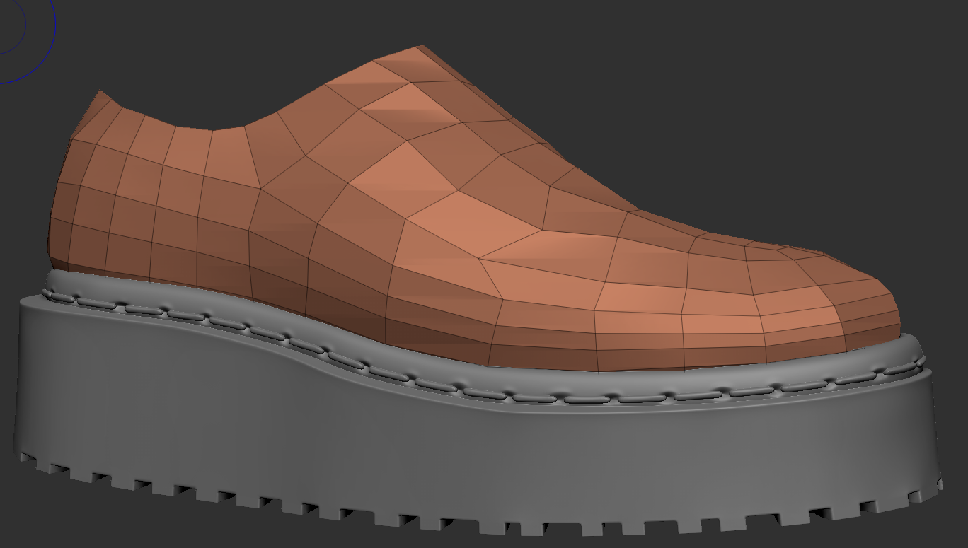 basic shape of shoe