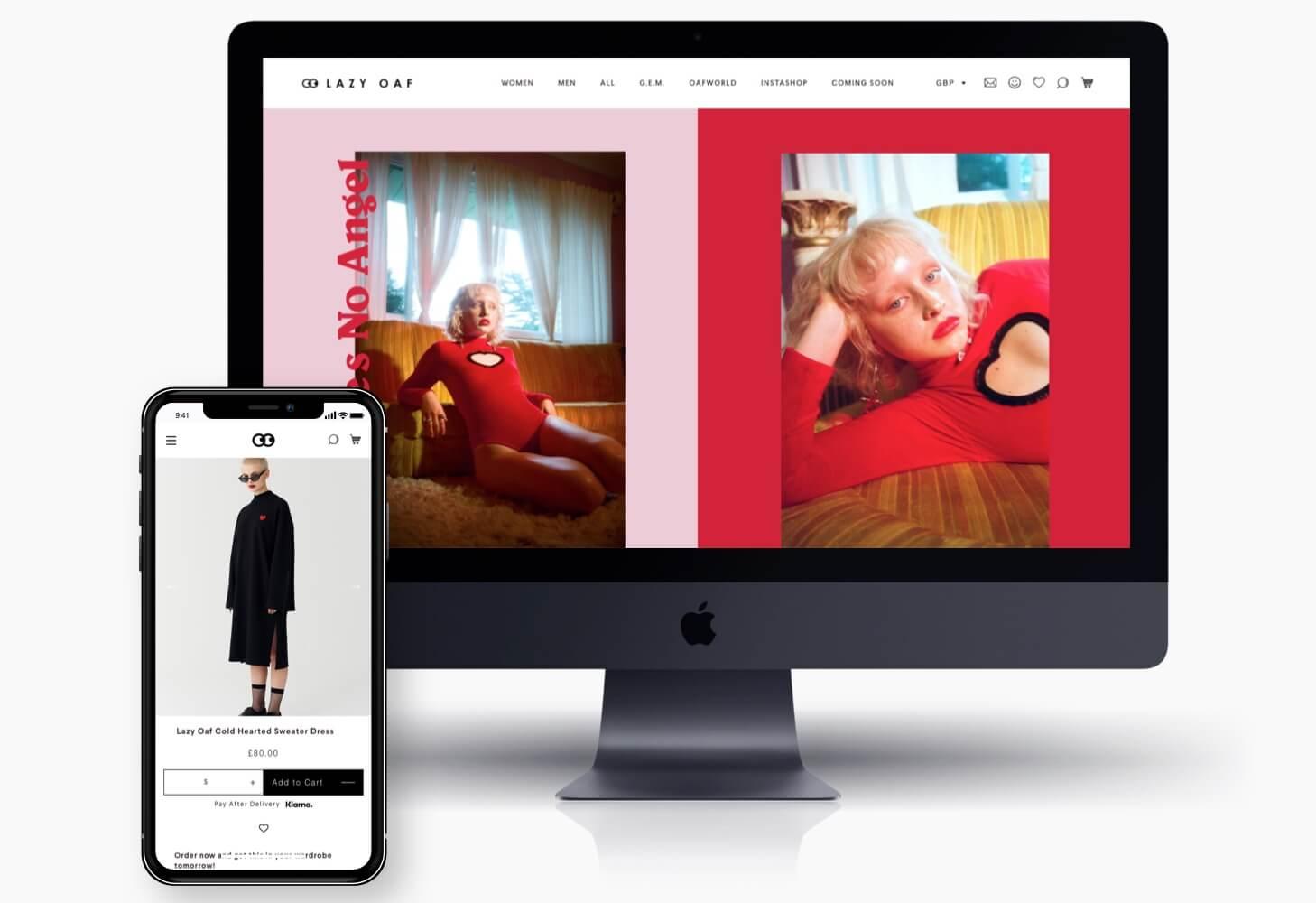 Shopify Webdesign