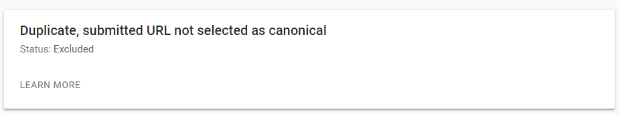 canonicals