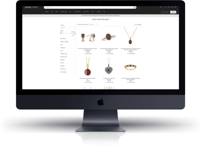 JewelStreet Shopify Collection
