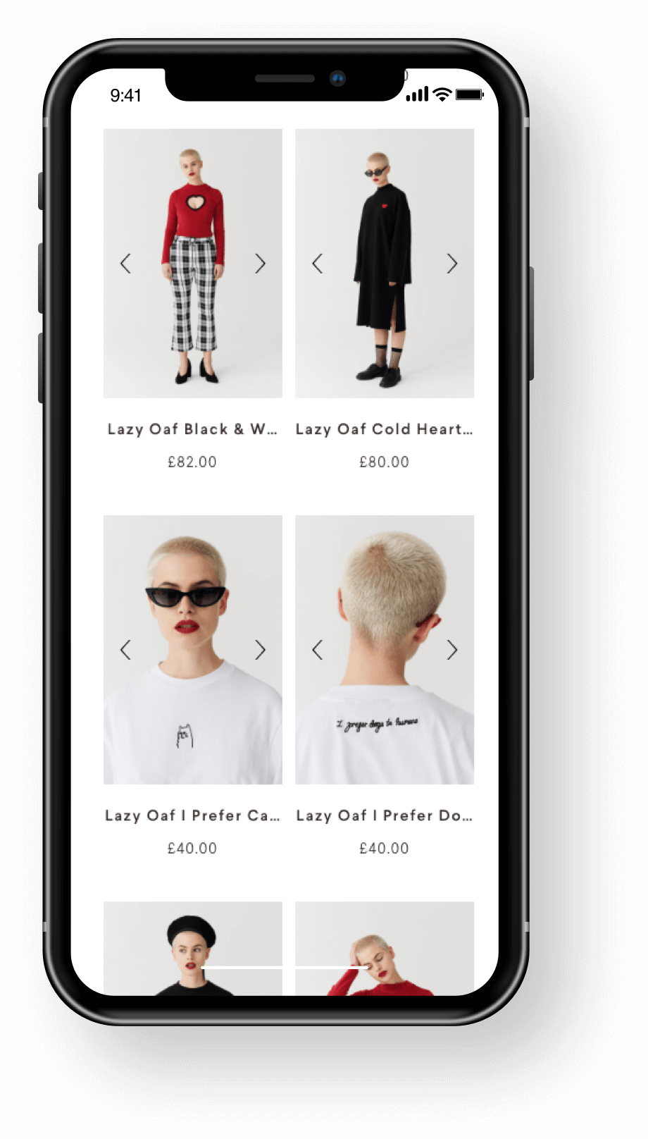 Lazy Oaf Shopify Product Collections