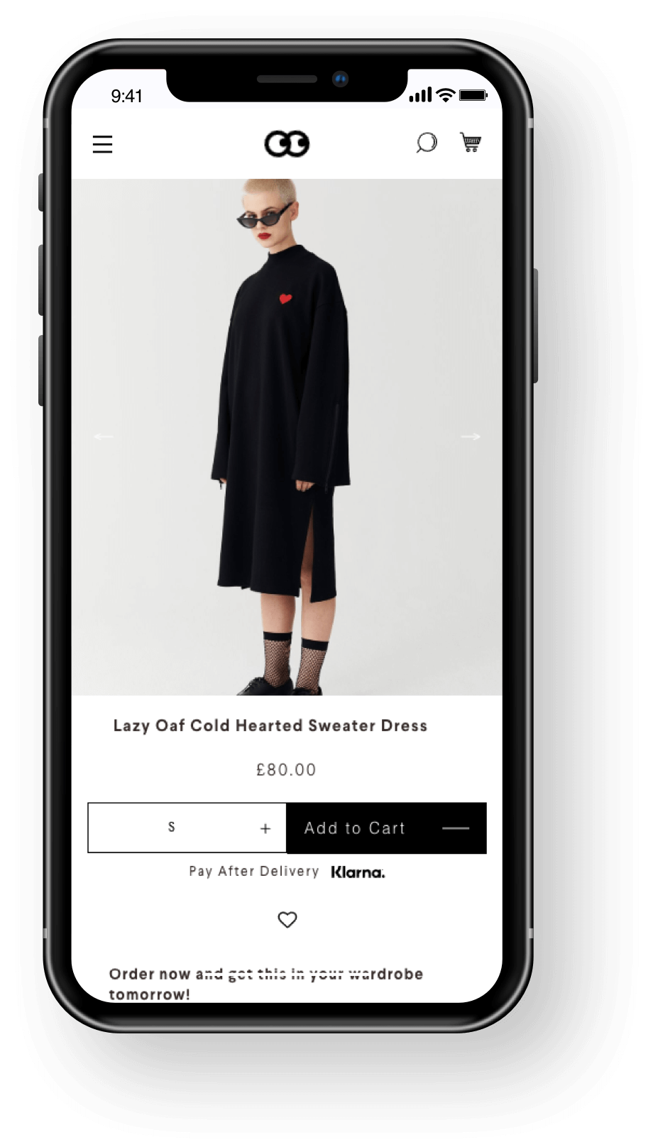 Lazy Oaf Shopify Product Page
