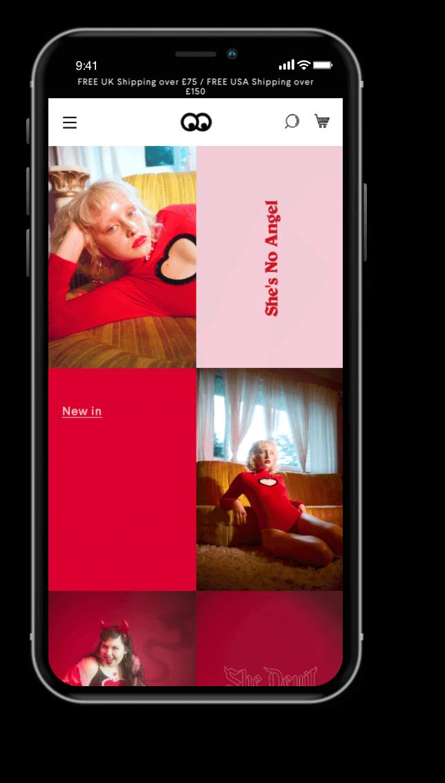 Lazy Oaf Mobile Image