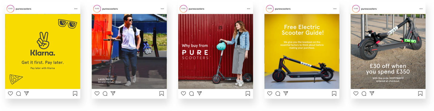 Pure Scooters Social Feed