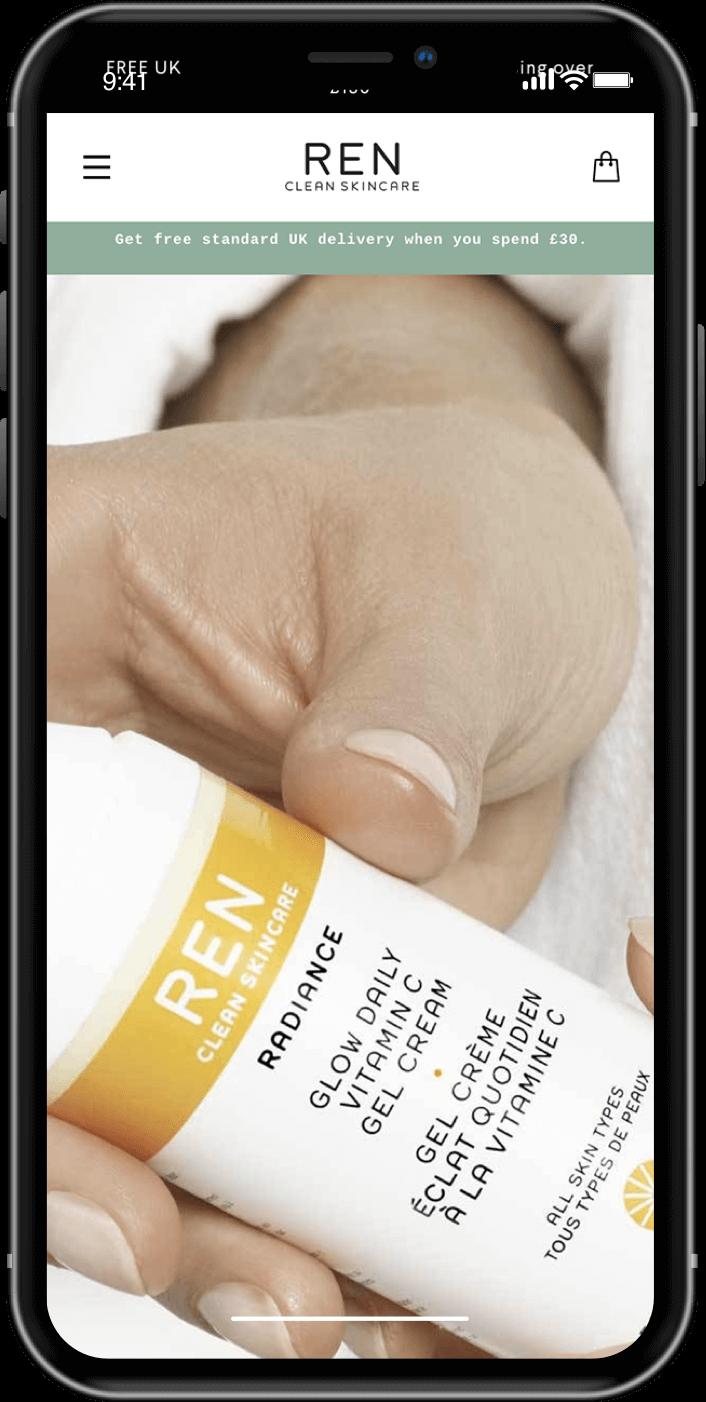 REN Skincare Mobile