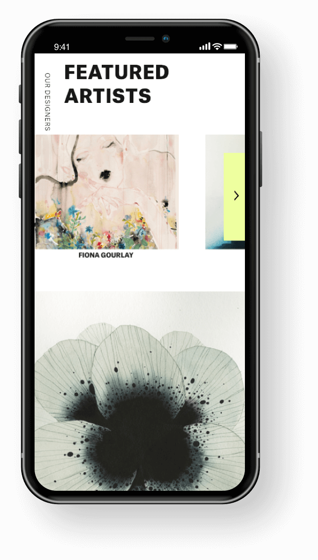 SHOWstudio Mobile Featured Artists
