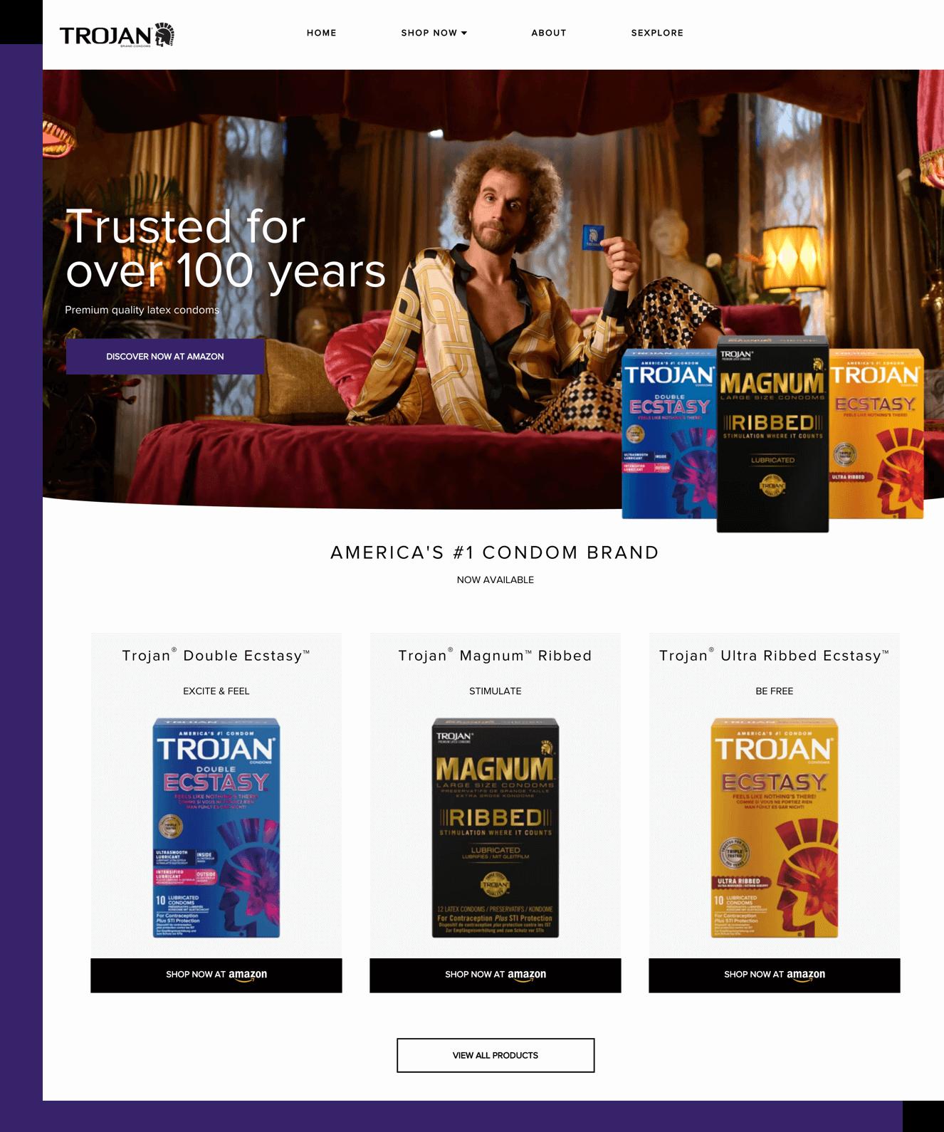 Trojan UK Website
