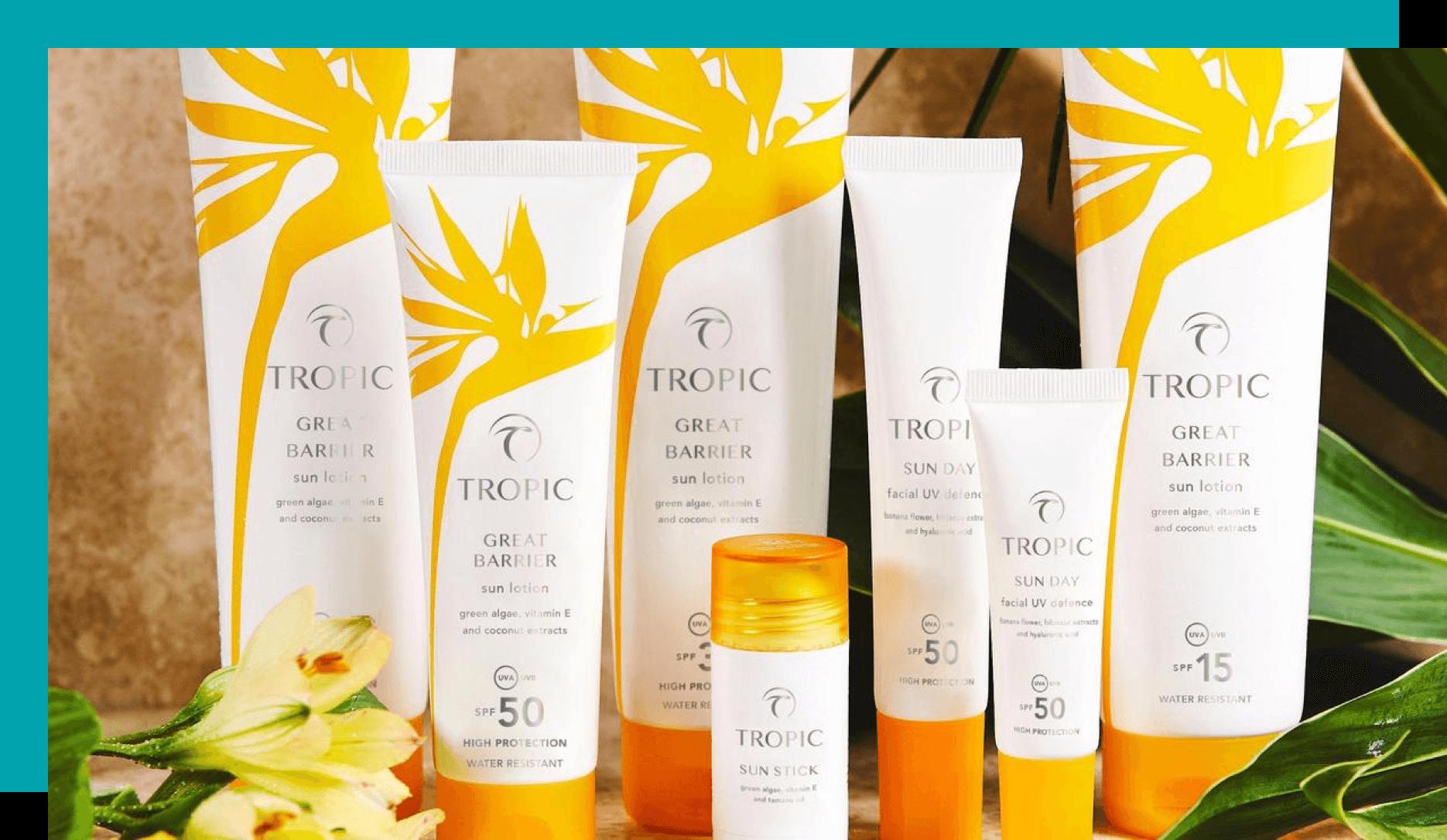 Tropic Skincare Shopify