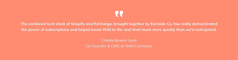 Wild Deo Client Quote