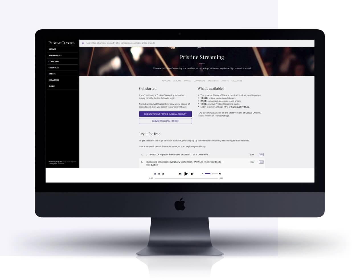 Mac screen displaying Shopify app by Eastside Co